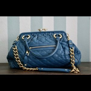Authentic Marc Jacobs Stam Quilted Handbag